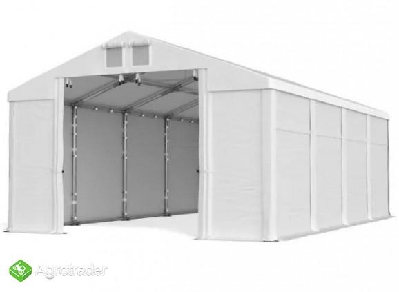 CAŁOROCZNA HALA NAMIOTOWA 6m × 14m × 2m/3,09m - zdjęcie 3