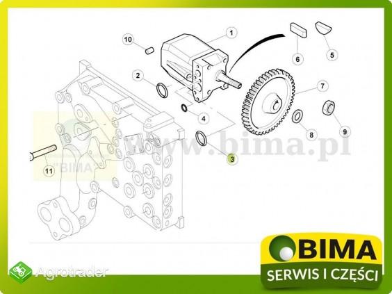 Uszczelniacz pompy hydrauliki Renault CLAAS Atles 926 - zdjęcie 1