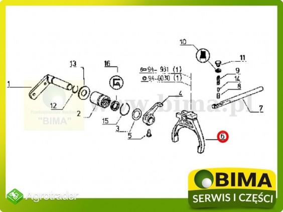 Używane widełki rewersu Renault CLAAS 106-14,110-14 - zdjęcie 2