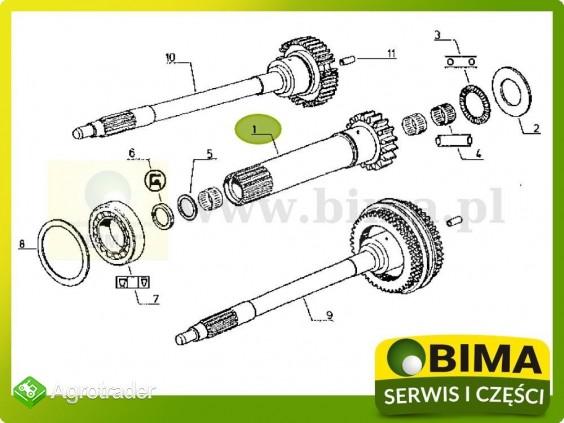 Używany wałek sprzęgłowy Renault CLAAS 113-12,113-14 - zdjęcie 3