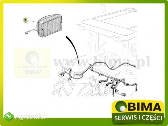 Lampa robocza na błotnik tylny Renault CLAAS Ares 826 - zdjęcie 2