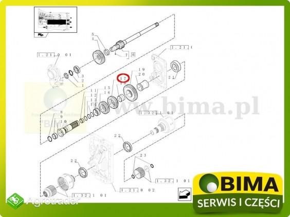Synchronizator Case IH Puma 230 CVX,MAGNUM 180