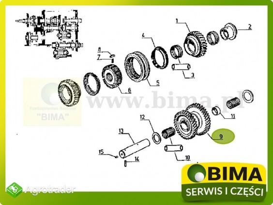 Używane koło zębate choinka Renault CLAAS 95-12,95-14 - zdjęcie 3