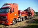 Transport maszyn rolnicych z Francji, Beneluxu, Niemiec