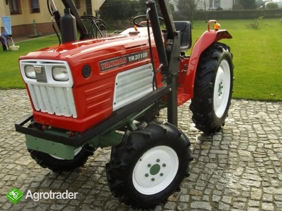 Mini traktor YANMAR 2010 D + TUR nie kubota iseki - zdjęcie 5