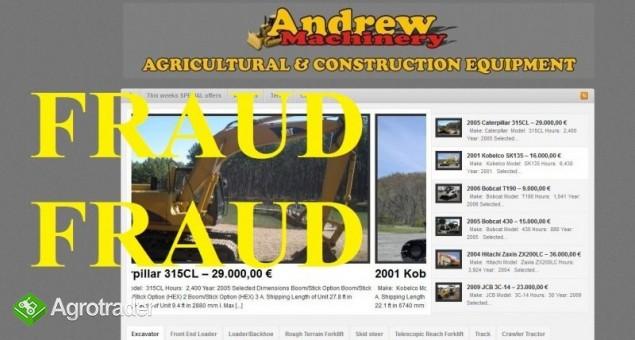 http://andrew-machinery.co.uk/  FRAUD COMPANY