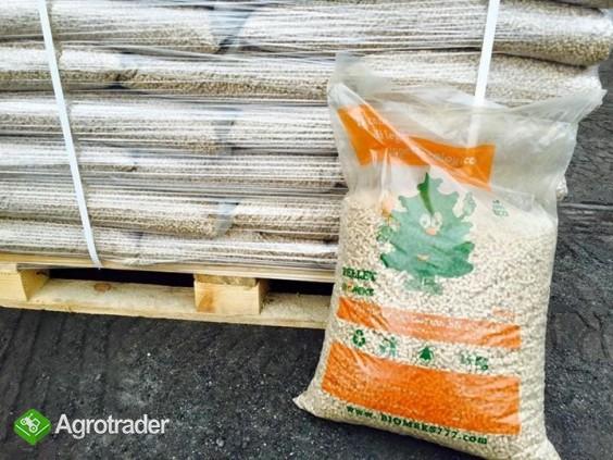 Pellet drzewny 6 mm sosna 100% worki 15 kg.  Dostawa.