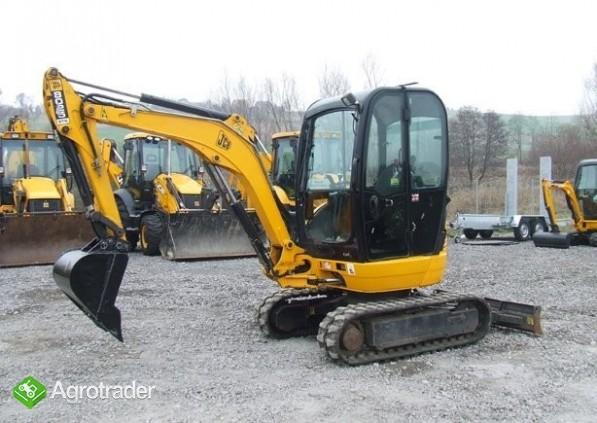 JCB 8025  ZTS, rok 2008 Sprzedaż maszyn JCB