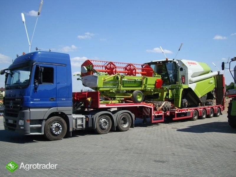 Genialny Transport niskopodwoziowy maszyn rolniczych Warszawa • Agrotrader.pl HV88